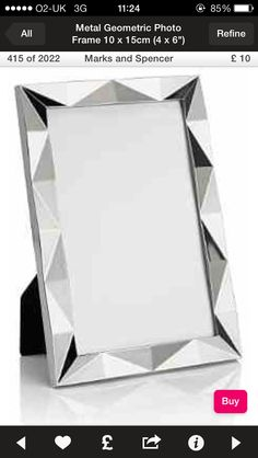 Another silver photo frame