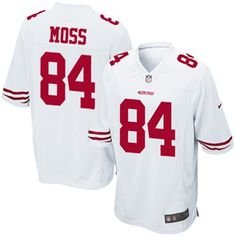 #fanatics.     your fellow football enthusiasts an outstanding show of team pride and all-out NFL fanaticism in the Nike San Francisco 49ers Randy Moss Game Jersey. San Francisco 49ers Game, 49ers Shop, 49ers Outfit, Gear Shop, 49ers Apparel, Nfl Jerseys, Tailgating, Super Bowl, Empire