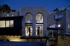 The Renovation of a 300 Year Old Israeli Home - http://www.usualhouse.com/the-renovation-of-a-300-year-old-israeli-home/