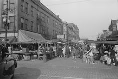 "A trip to the ""Maxwell st. Market"" at Halsted & Maxwell in Chicago...1941"