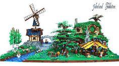 Resultado de imagem para hobbiton lego
