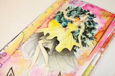 Vídeo tutorial paso a paso midori (travellers notebook) - diseño Sailor Moon Sailor Moon, Ring Binder, Travelers Notebook, Art Journaling, Cinderella, Mixed Media, Scrapbook, Paper, Step By Step