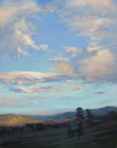 Lani Browning, Evening Sky | See more of Lani's work at: http://www.southstreetartgallery.com/index.html and http://www.lanibrowning.com/Home.html