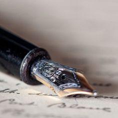Mont Blanc Meisterstuck Classique Fountain Pen, I love pens