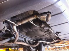 "Nameless Performance - Subaru Outback XT Turn-Down 4"" Muffled AxleBack Exhaust, $459.00 (http://shop.namelessperformance.com/subaru-outback-xt-turn-down-4-muffled-axleback-exhaust/)"
