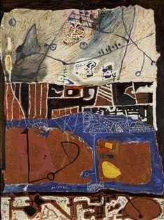 La Louisiane Artist: Francois Arnal Completion Date: 1949 Style: Art Informel Genre: abstract