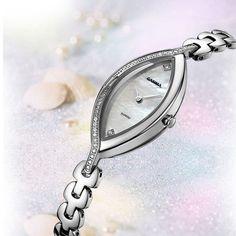 luxury Bracelet watches women Fashion casual quartz wrist watch stainless steel waterproof