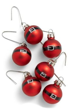Cute Santa Ornament Set http://rstyle.me/n/s9qyibh9c7: