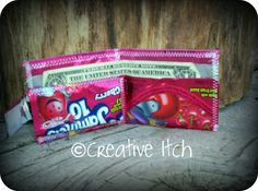 Creative Itch: Fun with Juice Pouches