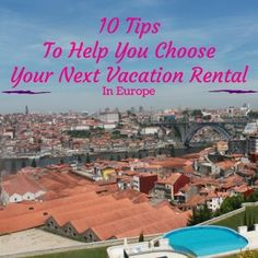 Vacation rentals in Europe