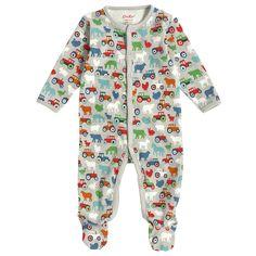 Mini Farmyard Baby Sleepsuit | Baby Boy | CathKidston