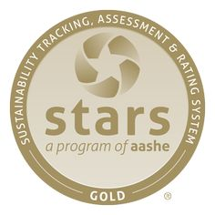 STARS Gold   The Sustainability Tracking, Assessment  Rating System (STARS) is a transparent, self-reporting framework for colleges and universities to measure their sustainability performance. The University of Washington achieved Gold with a total score of 70.23! #sustainableUW