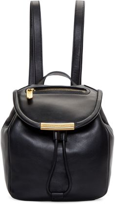 Marc by Marc Jacobs - Black Mini Luna Backpack