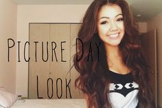 Back to School: Picture Day Makeup and Hair (+playlist)