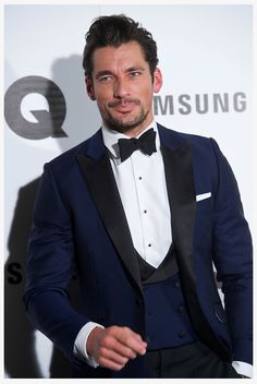 David Gandy at Men Of The Year Awards 2014 GQ Spain #ModelOfTheYear 2014 at Madrid, Spain #styleicon #supermodel #menstyle #mensfashion #britishstyle #gentleman #DavidGandy #DavidJGandyEspaña