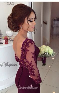 2016 prom dress, mermaid prom dresses, burgundy prom dresses, long prom dresses, engagement dresses, wedding party dress