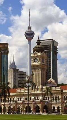 Sultan Abdul Samad Building in Kuala Lumpar, Malaysia
