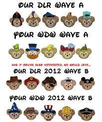 2012 wave A disney trading pins hidden mickey walt disney world - Google Search