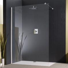 Begehbare Dusche Mit Duschwanne Und Glas. Mega : )