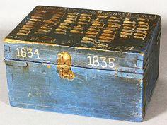 Whale Ship Box - Kaminski Auctions.