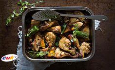 Receta de Pollo CUK al horno con pimientos Kung Pao Chicken, Ethnic Recipes, Food, Chicken Recipes, Oven, Eten, Meals, Diet