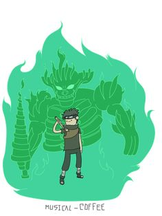 Shisui Uchiha with Susano'o - Adventure Time style by Musical-Coffee on DeviantArt