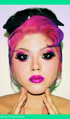 future hairstyles girls generation pretty in pink clothing makeup