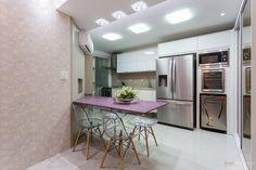 Cozinhas com paredes irregulares - veja modelos e dicas de como decorar! - Decor Salteado - Blog de Decoração e Arquitetura