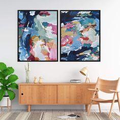 Bright Abstract Art, Bright Art, Abstract Wall Art, Large Canvas Wall Art, Canvas Artwork, Wall Art Prints, Fine Art Prints, Canvas Prints, Illustration Art