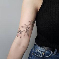 Vine Tattoos, Bff Tattoos, Flower Tattoos, Body Art Tattoos, Small Tattoos, Tattos, Wrap Around Wrist Tattoos, Simple Wrist Tattoos, Ethnic Tattoo