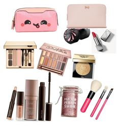 """""""My makeup travel pack"""" by happytunes5 on Polyvore featuring beauty, Laura Mercier, Major Moonshine, Burberry, Ted Baker, Anya Hindmarch, Bobbi Brown Cosmetics, MAC Cosmetics and Urban Decay"""