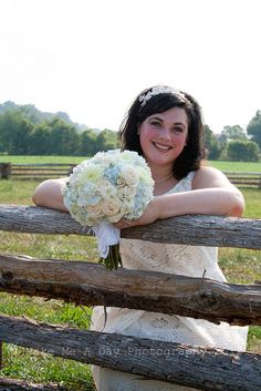Beautiful country bride.