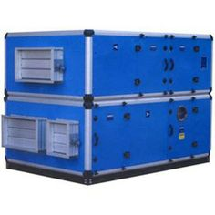 The air handling unit is one of the most important components of the HVAC system (Heating, Ventilation and Air Conditioning system). These units are basically connected to the duct work system which facilitates in circulating conditioned air throughout a building and then returning it to the unit. #airconditioner