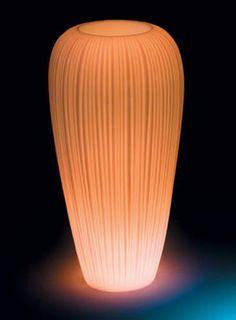 Pot de fleurs lumineux skin large / h 120 cm led  ad Euro 478.00 in #Myyour #Illuminazione illuminazione esterni