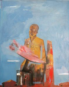 """Stainer Chindebvu (Born in Malawi: 1988 - based in Berlin) - """"History of the Land"""" #art"""