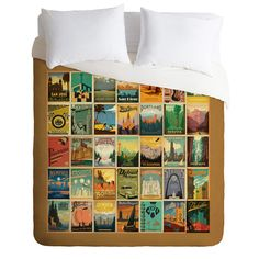 Found it at Wayfair Supply - Anderson Design Group Lightweight City Border Duvet Cover