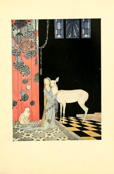 Illustration by Virginia Frances Sterrett  to Old French Fairy Tales, written by la Comtesse De Ségur.