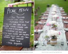 Love this simple wedding.- the picnic idea is great for a camp wedding :) depending on the location and time of year, tho. Cute Wedding Ideas, Chic Wedding, Wedding Engagement, Wedding Events, Wedding Inspiration, Fox Wedding, Simple Weddings, Real Weddings, Garden Wedding