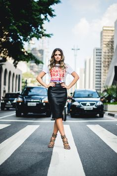 saia lápis , camiseta , tshirt , skirt , simple chic