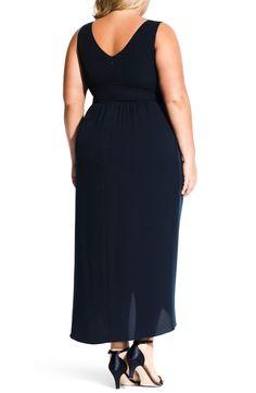 City Chic Cherish Maxi Dress (Plus Size) Plus Size Maxi Dresses, Formal Dresses, Cutaway, Anniversary Sale, City Chic, Image, Black, Fashion, Moda