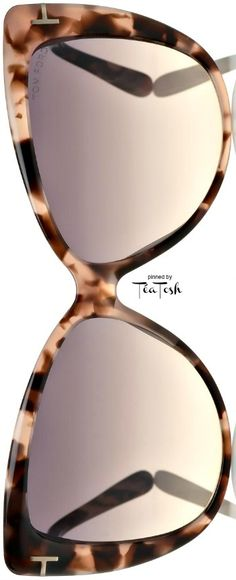 accd8ad63c ❇Téa Tosh❇ TOM FORD ~I m drooling over these! Stylish Sunglasses