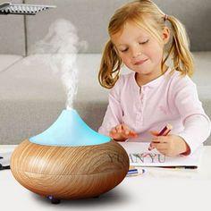 Casa Olio Essenziale Diffusore Lampada Cambia Colore Umidificatore Ad Ultrasuoni Aroma Lampada Aromaterapia Elettrico Aroma Diffusore Mist Maker
