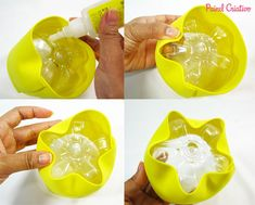 passo a passo lembrancinha abelhinha eva porta guloseimas reciclagem garrafa pet aniversario dia das criancas escola (2)