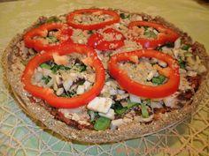 Lehká raw květáková pizza podle Laury (bez ořechů) | LAHODNÝ BLOG