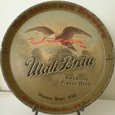 Utah-Brau  serving tray