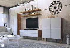 Salon styl Industrialny - zdjęcie od Black Red White - Salon - Styl Industrialny…