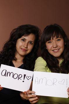 Love, María González y Laura Grimaldo, Estudiantes, San Nicolás / Monterrey, México.