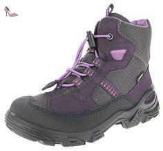 Ecco Snowboarder, Bottes de Neige Fille, Violet (Black/Night Shade/Slate), 31 EU - Chaussures ecco (*Partner-Link)
