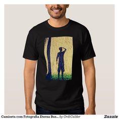 Camiseta com Fotografia Eterna Busca