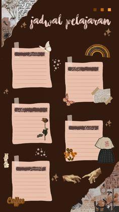 Study Schedule Template, Schedule Design, Planner Template, Flower Phone Wallpaper, Galaxy Wallpaper, Instagram Frame Template, Photo Collage Template, Aesthetic Template, Iphone Wallpaper Tumblr Aesthetic